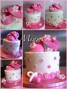 miam design cake naissance