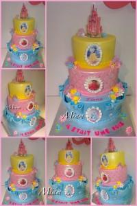 miam design cake princesse