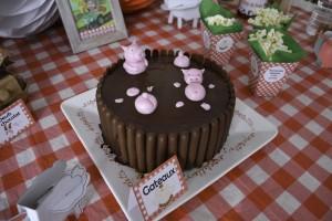 Gâteau d'anniversaire thème ferme