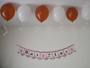 Astuce ballons sans hélium