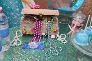 Coffre DIY thème Ariel la petite sirène
