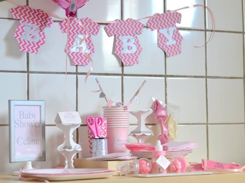 Guirlandes diy organisation baby shower anniversaire enfants et bapt me - Guirlande baby shower ...