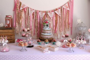 sweet table vintage shabby