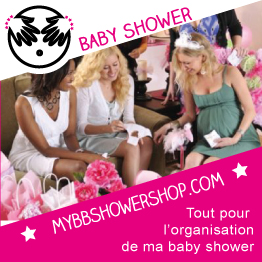 Une organisatrice Baby Shower avec mybbshowershop.com