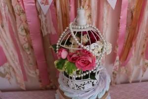 cage fleurs