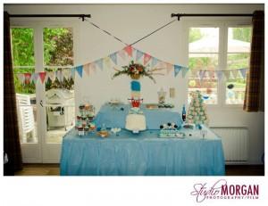 guirlandes décoration de salle anniversaire