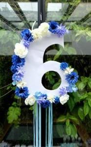 chiffre fleurs