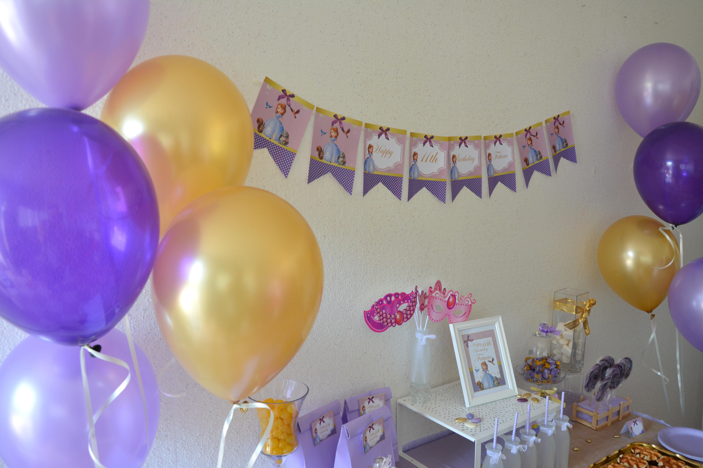 anniversaire princesse sofia organisation baby shower anniversaire enfants et bapt me. Black Bedroom Furniture Sets. Home Design Ideas