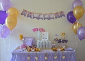 Sweet Table Anniversaire Princesse Sofia
