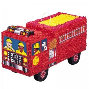 pinata pompiers anniversaire thème pompiers