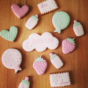 Sablé décorés pâte à sucre jeux anniversaire enfant