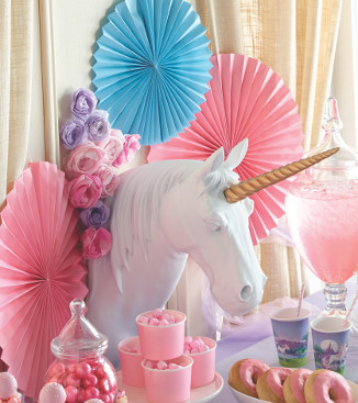 Sweet table licorne