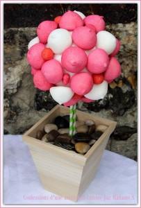 des pailles pour mon anniversaire arbre en bonbons