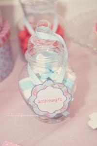 Candy bar ou bar à bonbons décoration de bonbonnières