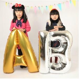 Ballons lettres enfants anniversaire
