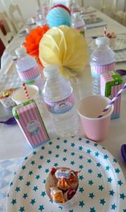 Anniversaire My little pony mon petit poney vaisselle jetable