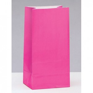 sachet cadeaux aux invités rose anniversaire licorne fantaisie