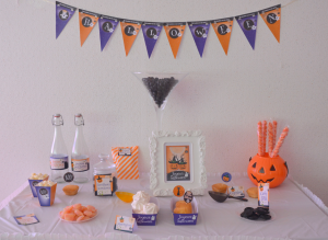 Kit Printable Halloween sweet table et candy bar