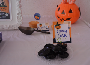 Kit Printable Halloween candy bar halloween