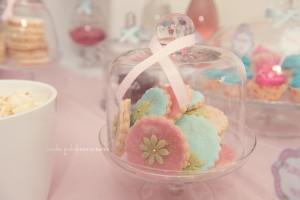 Jeux baby shower sablés sweet table