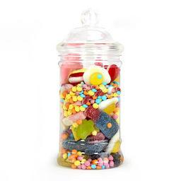 bonbonnières en plastique candy bar