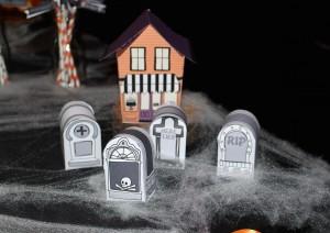 Sweet table halloween maison hantée