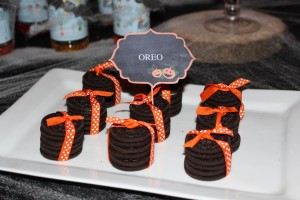 sweet table halloween oréos en ballotins
