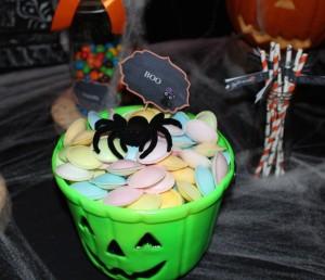 Sweet table halloween soucoupes