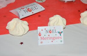kit printable Noël étiquettes de buffet thème boules de Noël