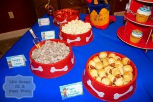Anniversaire Pat Patrouille sweet table originale
