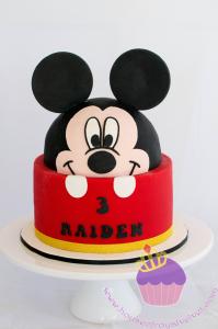 Anniversaire Mickey design cake