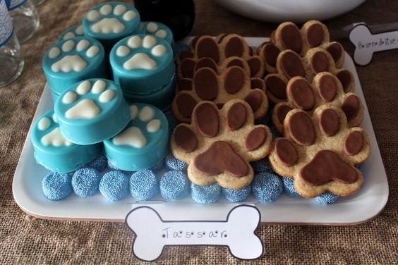anniversaire décoration chien