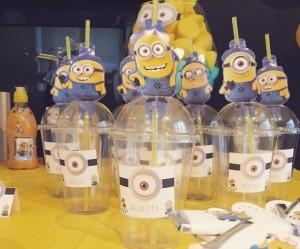 un anniversaire Minions candy gobelets plastique minions