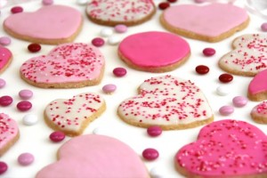 sablés-saint-valentin-rose