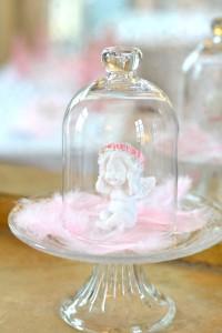 baptême thème des anges : décoration anges
