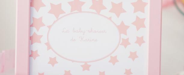 organisation de la baby shower Karine à Bordeaux