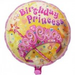 ballon-rond-rose-princess-birthday