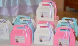 Box cadeaux des invités