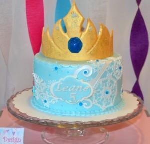 04 gateau d'anniversaire design cake reine des neiges (2) - Copie