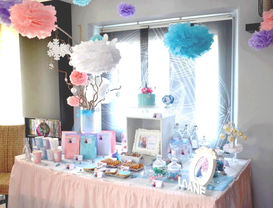 Decoration De Table Avec Du Bleu