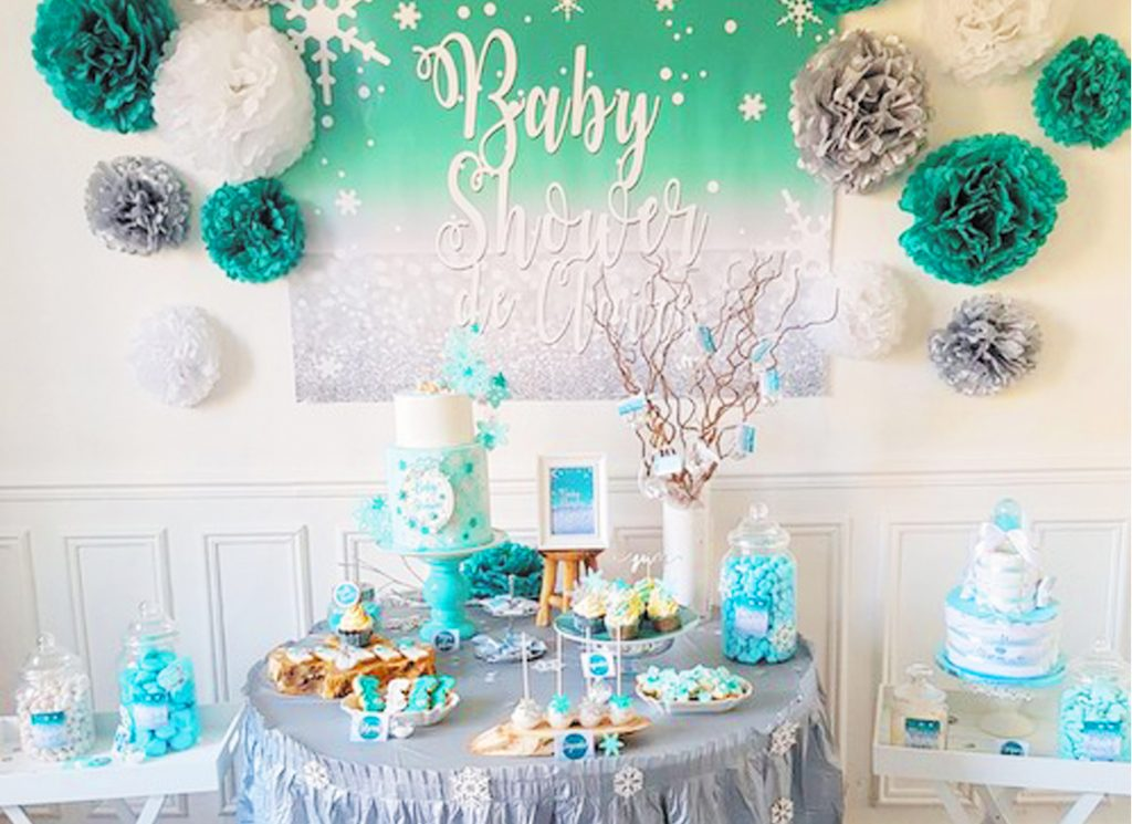 Une Baby Shower Th 232 Me Hiver Organisation Baby Shower