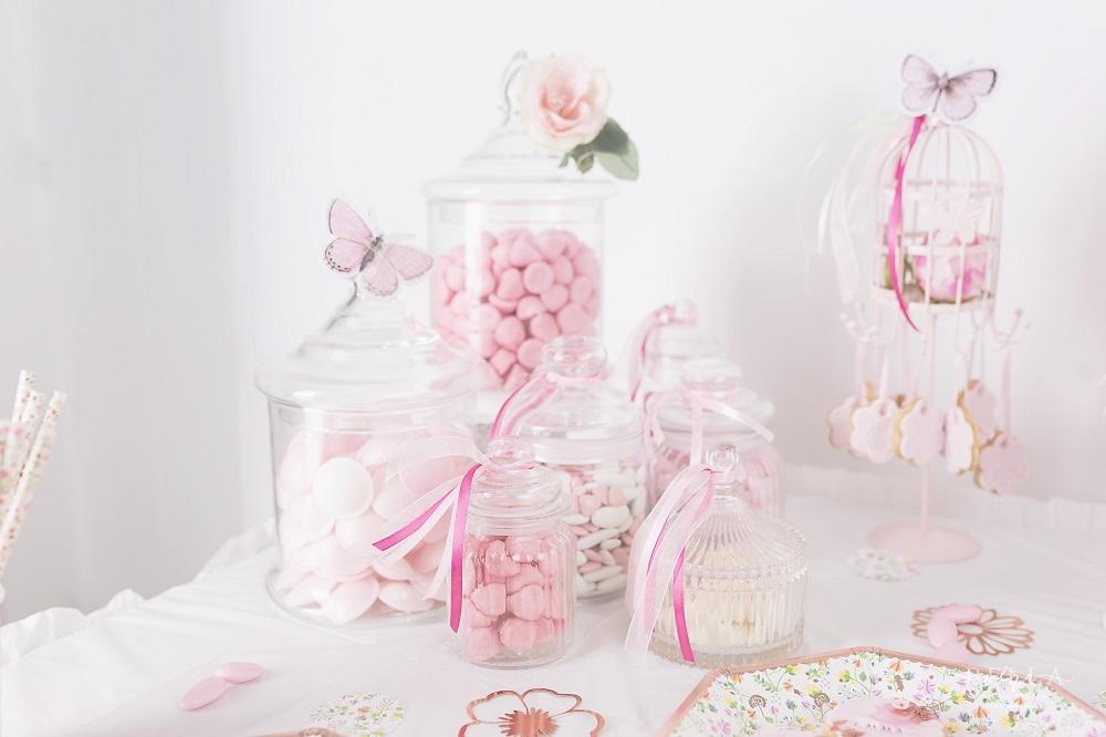 le bapt me d 39 emma d coration liberty rose gold organisation baby shower anniversaire. Black Bedroom Furniture Sets. Home Design Ideas