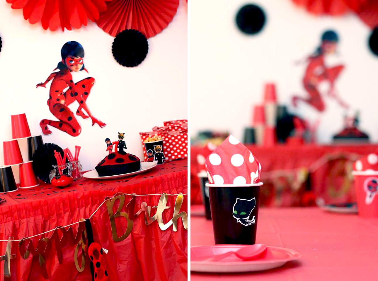 L Anniversaire Miraculous Ladybug D Emma Organisation Anniversaire