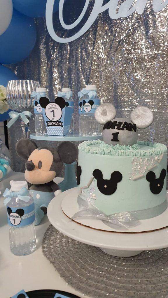 gâteau thême Mickey