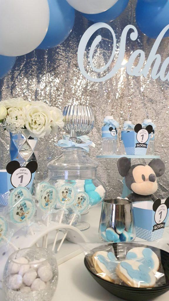 Anniversaire personnalisé Mickey