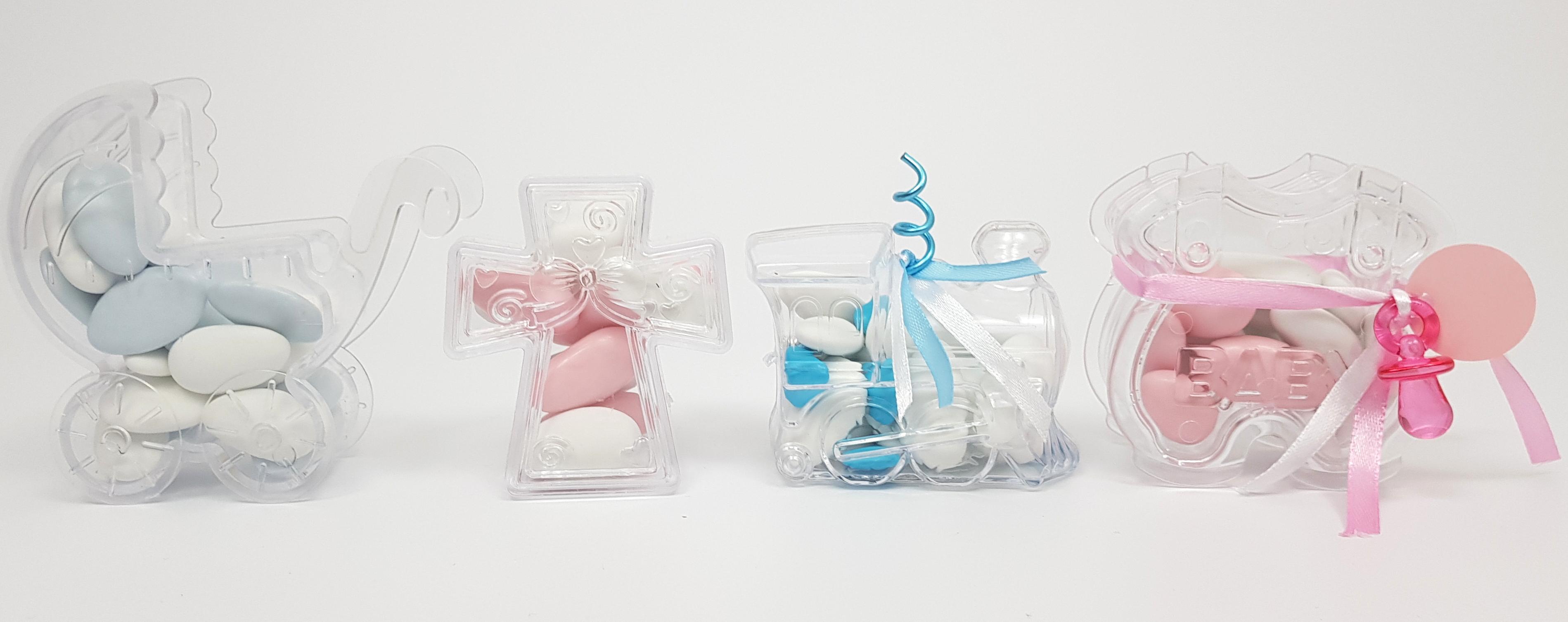 Idée Cadeau Baby Shower contenant boites plexi idées cadeaux bapteme - copie